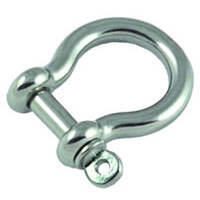 4mm Round Body Bow Shackle