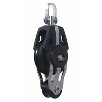40mm Dynamic Block Swivel With 20mm Fiddle