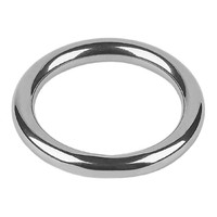 25mm round utility ring, 6mm stock
