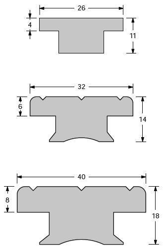 T-Track & Accessories - Aluminium extrusion - Antal