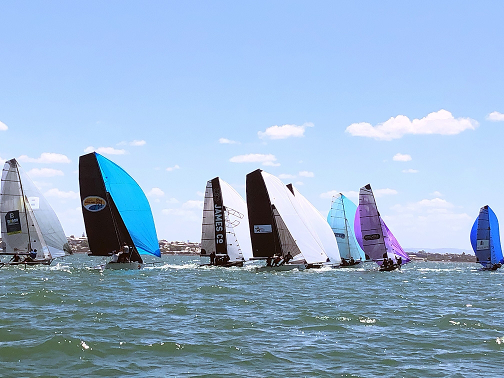 Fleet Shot 16ft Skiff Australian Nationals 2018-19