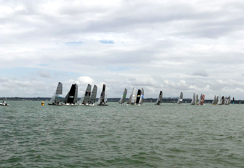 Startline 16ft Skiff Nationals 2018-19