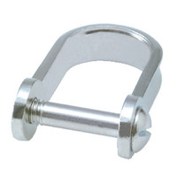 4mm Slot D Shackle with slotted pin