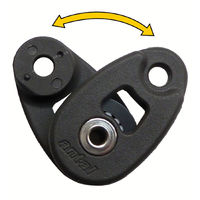 Mini snatch block, sheave 32mm, SWL 250 kg