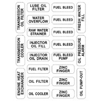 NASH 211 Engine Care Label