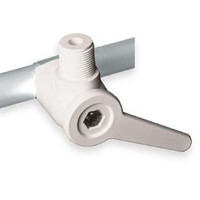 "311 1-1/4"" Nylon antenna mount with handle"