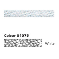 LIROS LIROLEN Braid Spiral plaited 12mm White