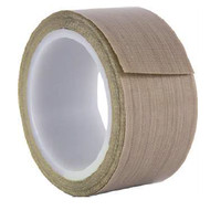 Composite tape 76 micron PTFE Glass Coated Fabric/S 25mm x 33m