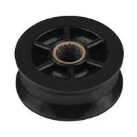 "Sheave, 1 7/8""(48mm) OD, Black Delrin 62-043-02B"