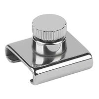 "Adjustable Stop, 1""x1/8""(25x3mm) T-Track"